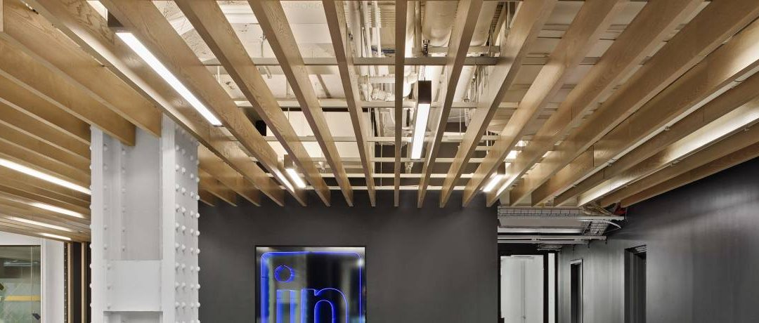 CertainTeed Architectural Open Plenum Ceiling Systems Make Waves